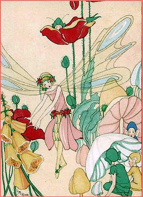 Vintage Fairy Illustrations   fairies   Vintage children's illustrations