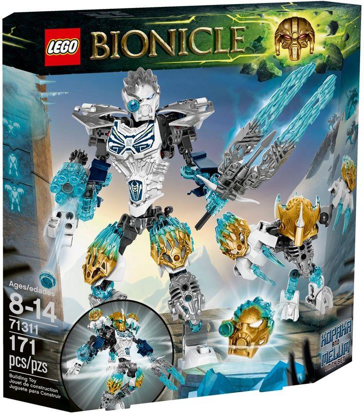 71311-1: Kopaka and Melum - Unity set | Brickset: LEGO set guide and database