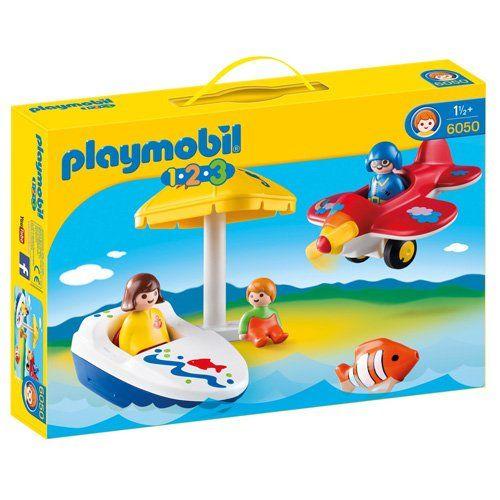 Playmobil – P 6050 – Kit de Plaisir de vacances: Exclusive Playset seulement pour de courtes périodes de vacances amusantes Play mobil 123…