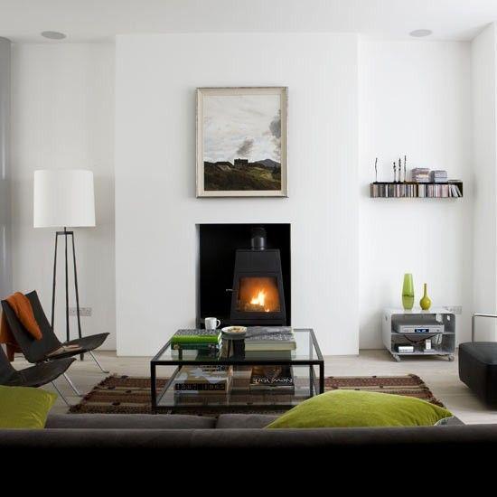 Designer-style living room