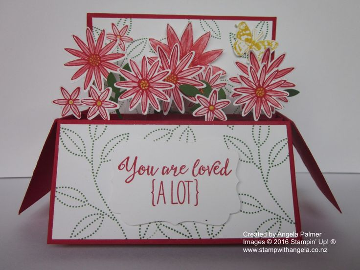 Grateful Bunch Card In A Box | Stamp With Angela
