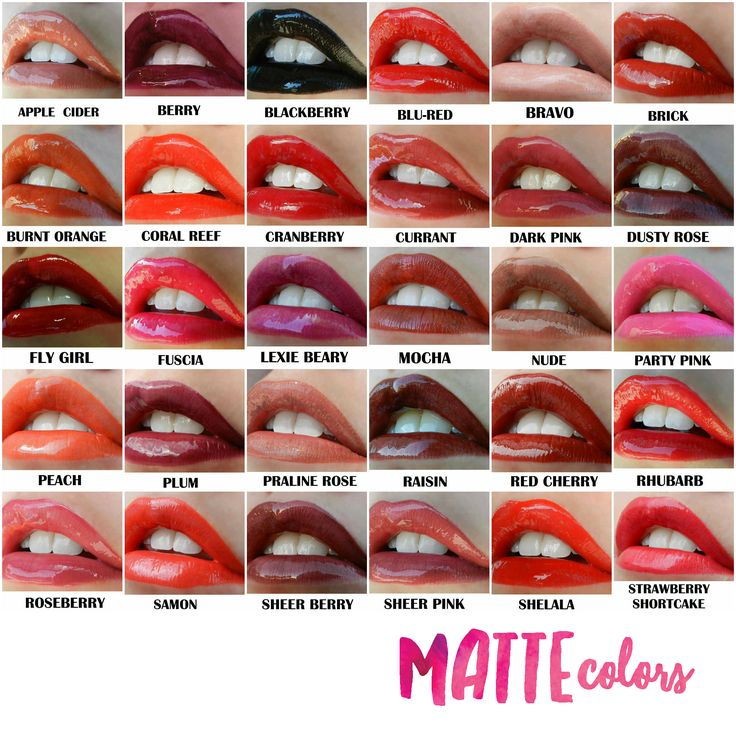 Here are our Matte colors :) This lip color lasts up to 18 hours! www.senegence.com/TimelessEleganceByTara