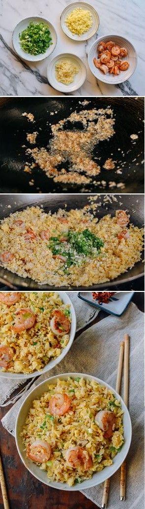 Ginger Garlic Shrimp Fried Rice, recipe by the Woks of Life