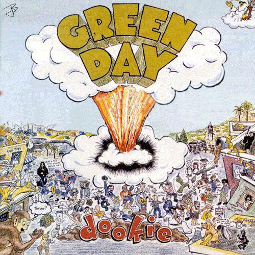 Green Day - Dookie - 1994 Original album cover .