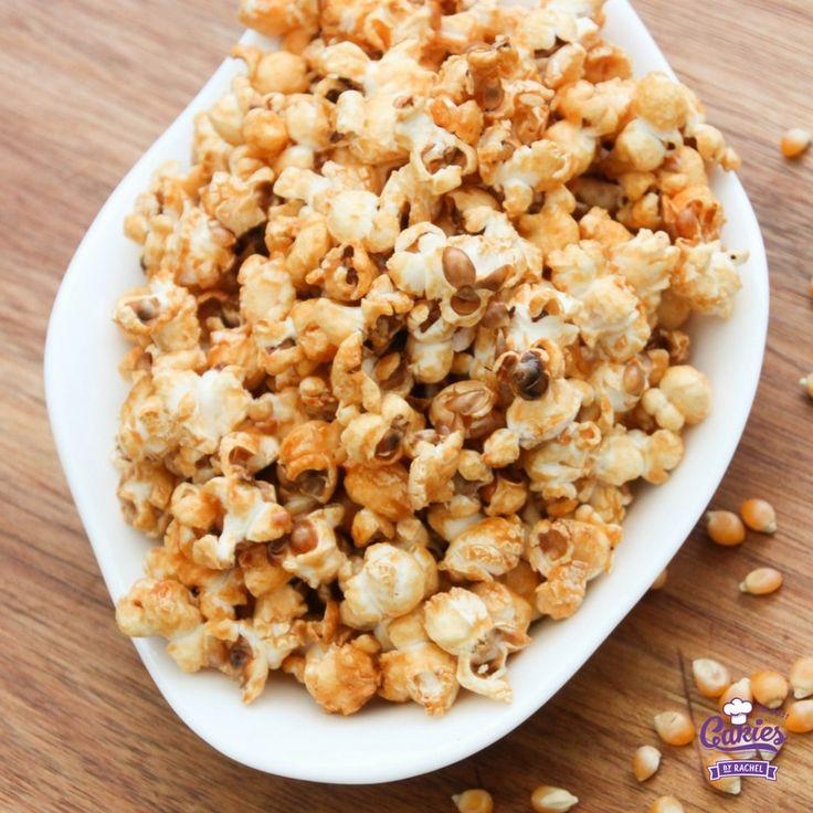 Sweet Honey Popcorn Recipe | Cakies >> cakieshq.com <<