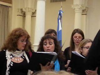 Siguiendo un sueño...: concierto del coro del ministerio 2015