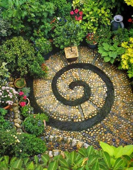 Spiral Garden very nice for a meditation spot