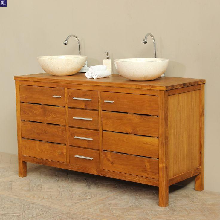 1000 id es sur le th me salle de bain teck sur pinterest. Black Bedroom Furniture Sets. Home Design Ideas