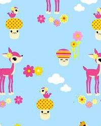 deerio: Kaufman Toyland, Blue Fabrics, Delec Deer, Sky Blue, Robert Kaufman, Kaufman Fabrics, Fabrics Fabulo, Deer Fabrics, Awesome Fabrics