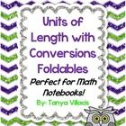 This purchase contains four foldables which cover customary units of length, metric units of length, converting customary units, and converting met...