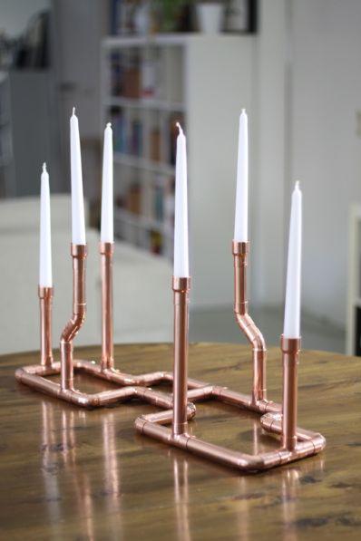 Kerzenständer Kupfer ähnliche tolle Projekte und Ideen wie im Bild vorgestellt werdenb findest du auch in unserem Magazin . Wir freuen uns auf deinen Besuch. Liebe Grüße M