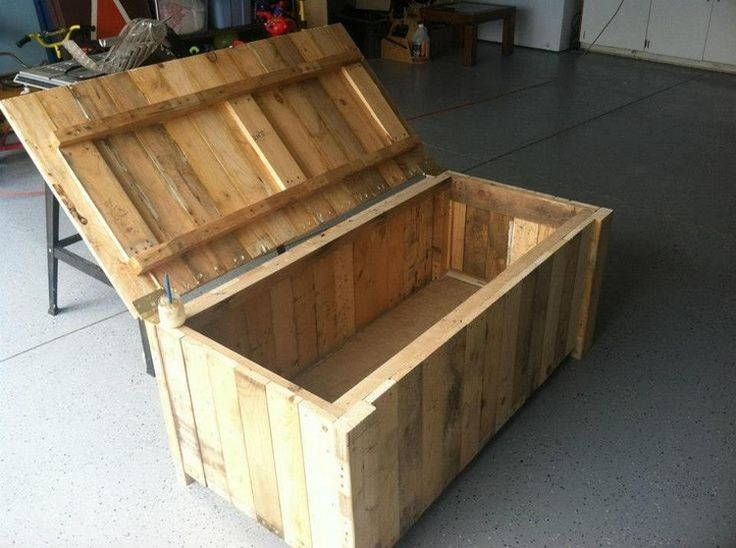 25+ unique Wood storage box ideas on Pinterest DIY