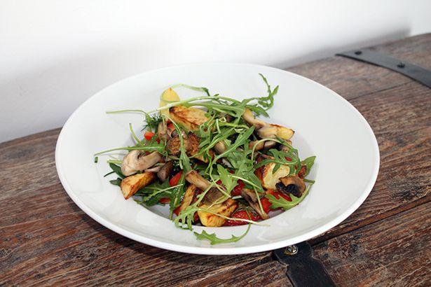 """Rezept: Backkartoffelsalat und Rezension """"La Veganista"""" von Nicole Just   Projekt: Gesund leben   Blog über Ernährung, Bewegung und Entspannung"""