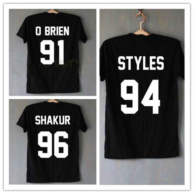 1D One Direction T Shirt Homme Harry Styles Shakur 96 Tupac 2PAC T-Shirts Hipster Dylan O'Brien Cotton Shirt Tee Tops T-F10625