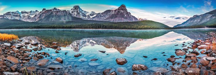 Горы вдали...  Альберта - Канада   Автор фото: Israel Litvak