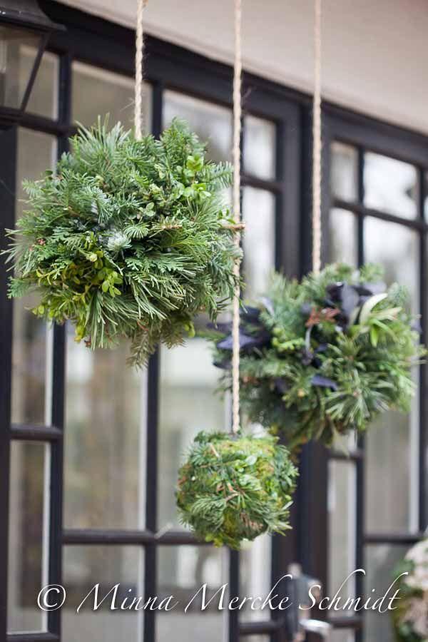 DIY – gröna dekorationsbollar