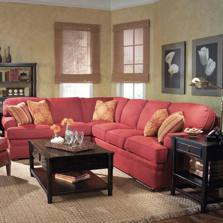 3722 Sectional Sofa with Sleeper by Fairfield- would like sleeper in the basement