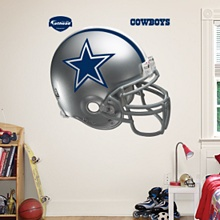 Dallas Cowboys Helmet - Dallas Cowboys - NFL: Classic Logo, Colleges, Man Cave, Helmets, Throwback Helmet, Sports, Wall Decal, College Fatheads, U.S. States