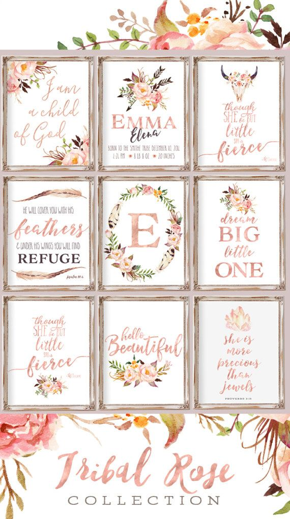 Super cute Collection of nursery printable wall art. Personalized printables | Christian quotes printables | girls nursery decor | girls bedroom decor ideas, modern nursery, mature nursery, instant download. #afflink
