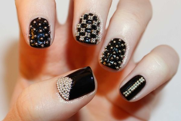 Micro Bead Nail Art