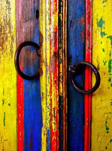 Javanese antique door