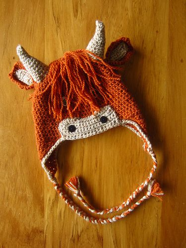 Highland cow hat! OH goddammit. It now cannot be unseen and I MUST get this pattern. lol