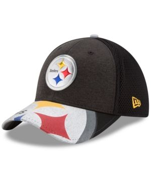 New Era Pittsburgh Steelers 2017 Draft 39THIRTY Cap - Black/Silver/Gold L/XL