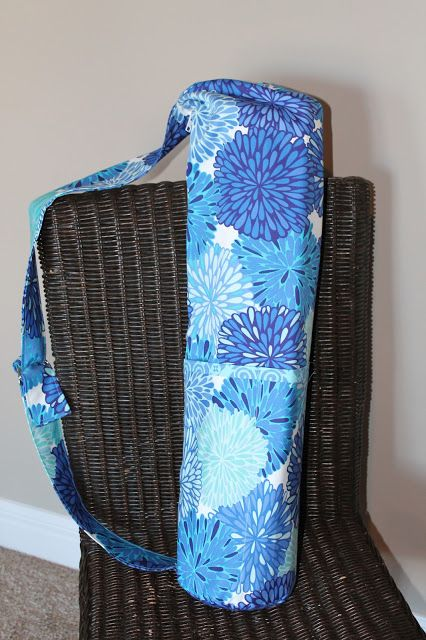 Jane S Girl Designs Yoga Bag Zippered With Adjustable