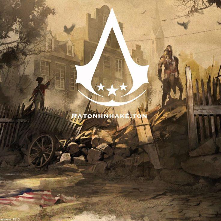 Assassin's Creed fan art - Ratonhnhaké:ton