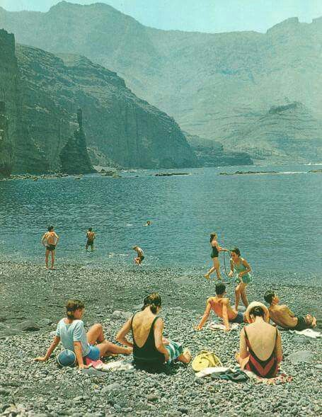 PLAYA DE AGAETE 1975
