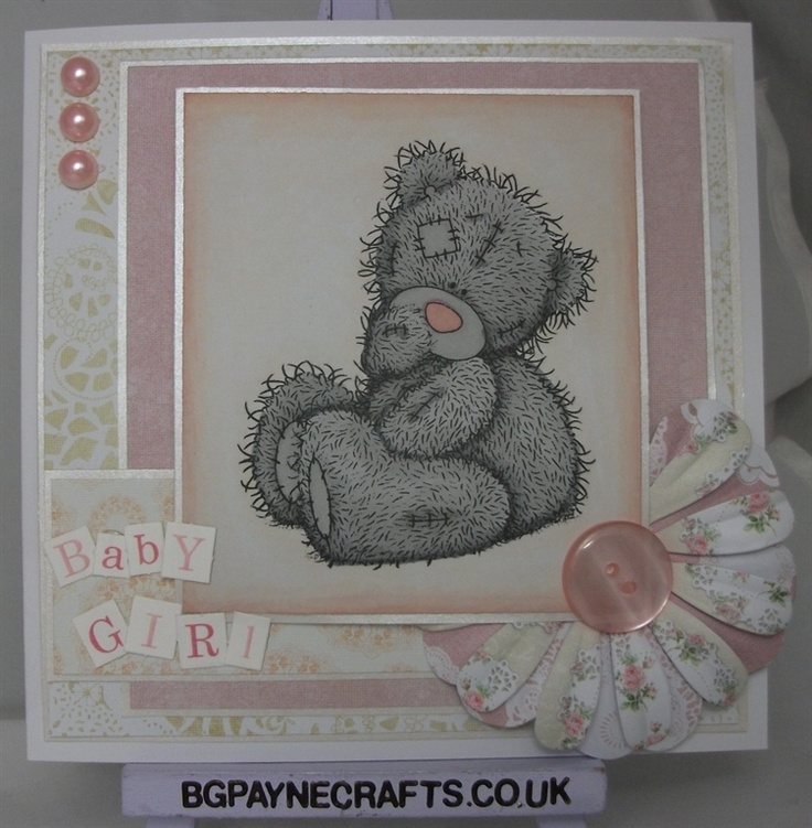 Pink and Ivory Baby Girl by: Bridie