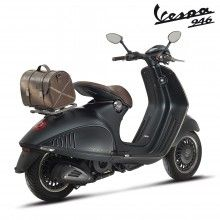 Leather Bag and vespa by Armani