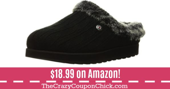 TODAY ONLY!! Sketchers Slippers ONLY $18.99 (Originally $69) on Amazon!