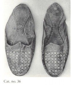 Egyptian slippers 4th - 7th C.