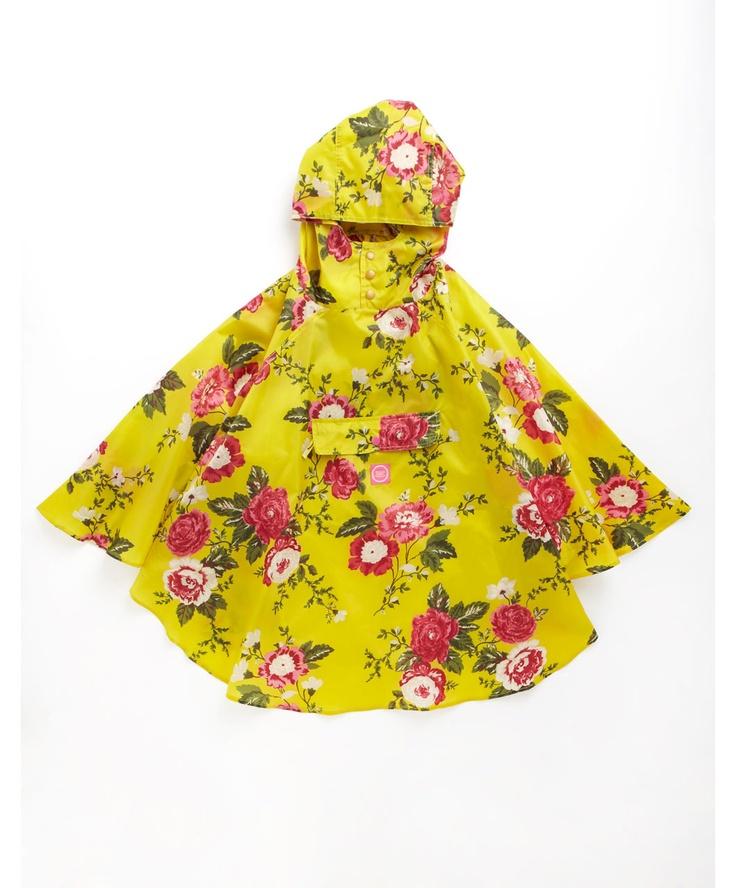 PONCHO Womens PonchoRaincoat Ponchos, Yellow Floral, Fashion Style, Ponchos Women, Women Ponchos, Rain Ponchos, Joules Clothing, Joules Women, Ponchos Yellow