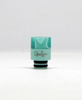 #2Puffs – Tiffany Swirl Drip Tip (Tiffany Blue) * $23.99