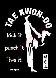 Black T-Shirts   Taekwondo-ART: Original Designs Promoting the Martial Art of Taekwondo, custom logos designed, T-shirts, Hoodies, Vests, Banners, Flyers