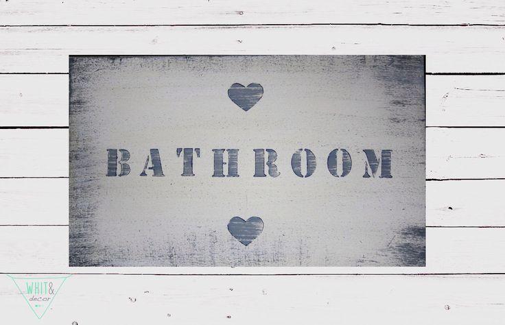 Cartelli/targhe in legno per la casa: camera, bagno, giardino, cucina, arredo interni. di WhiteAndDecor su Etsy https://www.etsy.com/it/listing/256741235/cartellitarghe-in-legno-per-la-casa