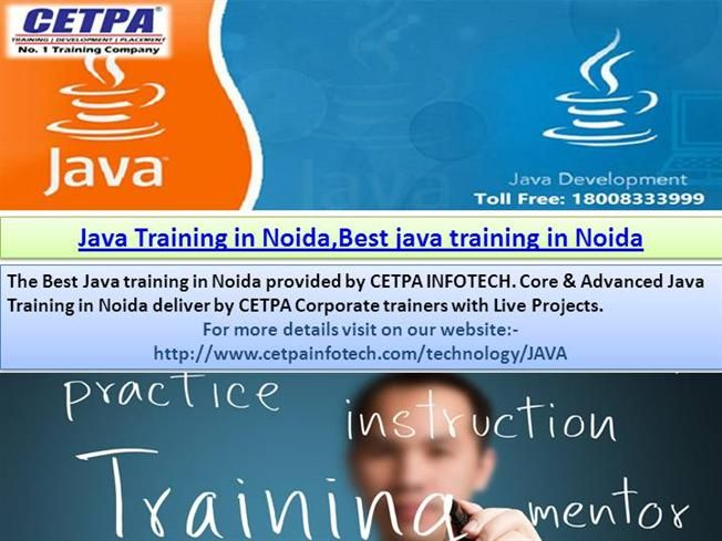 In the event that we are contemplating the program on the propel java Training in noida. you come at whatever point I promiss you will sit back and relax if you are joined here.and likewise a best java preparing in noida.