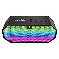 Esonstyle Mini Bluetooth ワイヤレス 高音質スピーカー LED光変化 通話可能/USB充電式/内蔵マイク搭載 おすすめ度*1 ASIN B01M7VD3G1 Bluetooth対応コンパクトワイヤレススピーカー。 音響に合わせてLEDで前面が光るのが特徴。 このLEDは音量に合わせて光るので、動画や音楽を再生していてもミュートでは光らない。 ちなみに光り方はスペクトラムではなく、単純に音量の上下だけ影響する。 【1】外観・インターフェース・付属品 付属品は英語マニュアルとUSB充電とAUX入力を兼ねたケーブルが1本付属する。 本体上面に操作パネルがあり、Play/Pau…