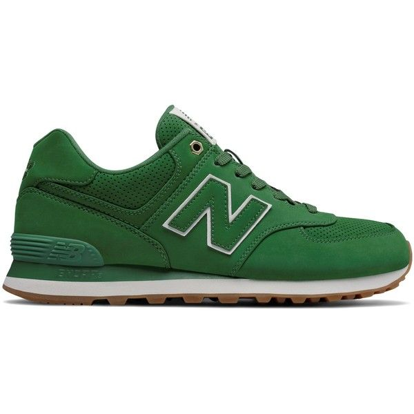 New Balance 574 Outdoor Men's 574 Shoes ($80) ❤ liked on Polyvore featuring men's fashion, men's shoes, green, mens shoes, mens green shoes and new balance mens shoes