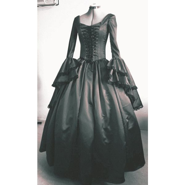 A Costume Gothic Renaissance Pirate Gown Custom Any Size Welcome ($350) ❤ liked on Polyvore featuring costumes, dresses, pirate costume, red costumes, goth costume, gothic halloween costumes and gothic lolita costume