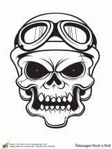 tatouage rock motard