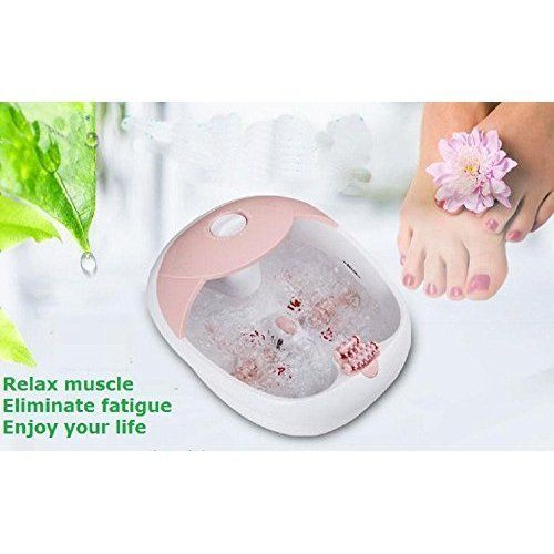 All in One Heated Foot Spa Bath Massager Pedicure w/ High Frequency Vibration | eBay  All-in-one Foot Spa Bath Massager: heating therapy, oxygen bubbles massage, high-frequency vibration massage. It effectively promotes blood circulation, improves metabolism, relieves fatigue, and smoothens the meridians (Qi system).