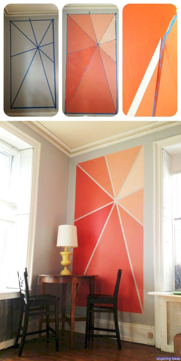 28 Gorgeous Wall Painting Ideas That So Artsy Diy Wall Painting