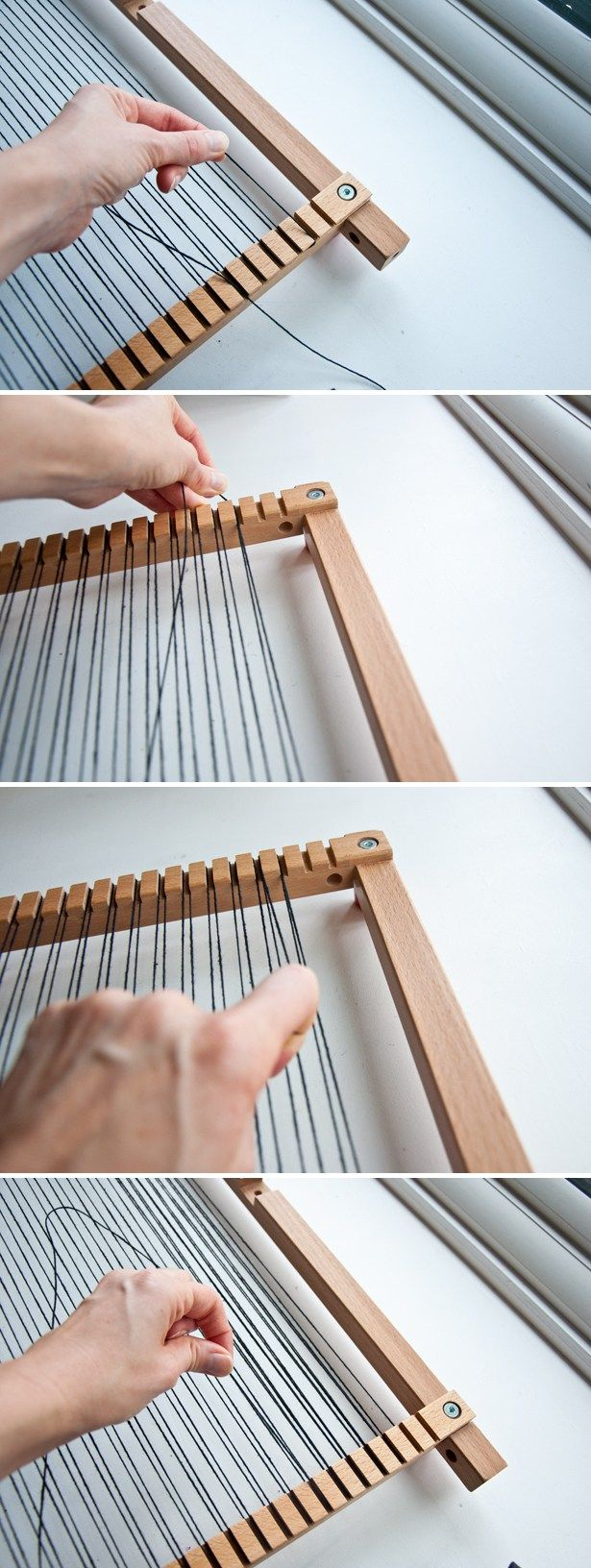 How To Double Warp a Loom | The Weaving Loom                                                                                                                                                                                 More
