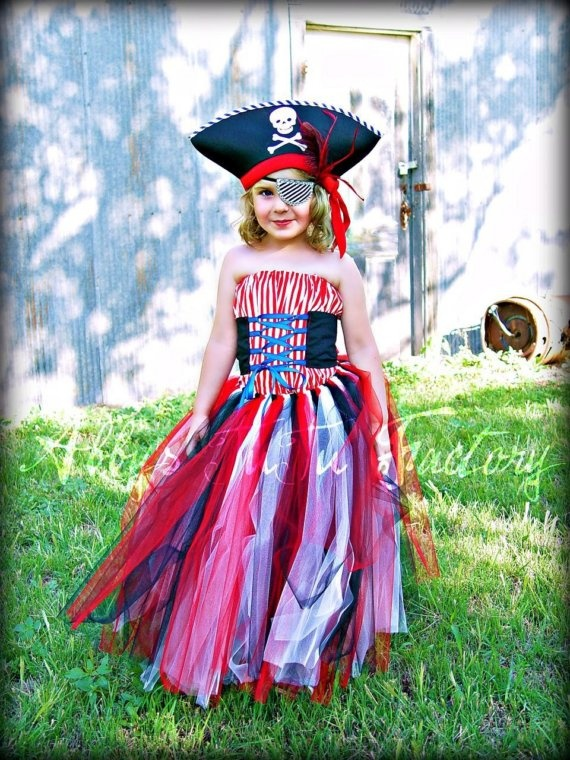 I love these. I'm turning my niece into a pirate next year.
