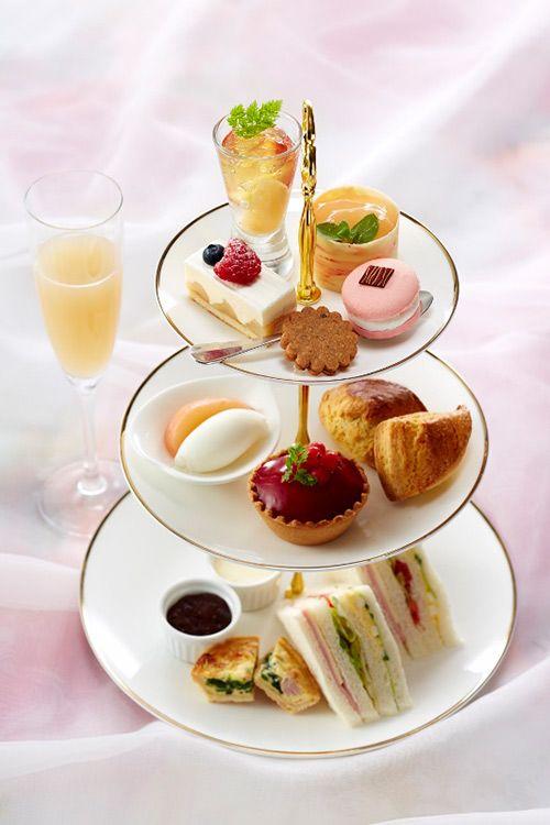 「ピーチアフタヌーンティー」ホテル日航東京で開催、夏のフルーツの女王「桃」を使用したスイーツ&ティーの写真2