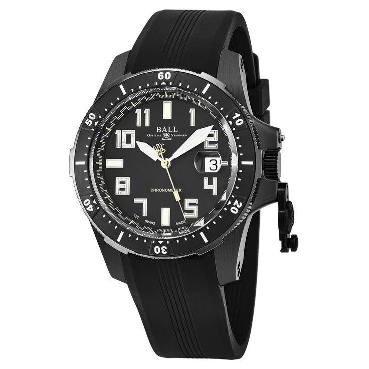 Ball Men's DM2176A-P1CAJ-BK 'Engineer Hydrocarbon' Dial Strap Swiss Automatic Watch