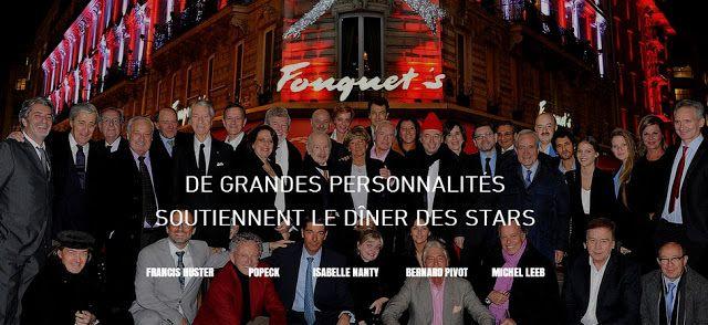 Le Dîner des Stars pour le dépistage précoce du cancer -  Restaurant le Fouquet's Paris - Agence FEP